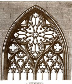 Glossary of Medieval Art and Architecture:Bar Tracery Sacred Architecture, Detail Architecture, Cathedral Architecture, Architecture Drawings, Historical Architecture, Interior Architecture, Gothic Windows, Church Windows, Cathedral Windows