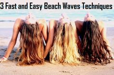3 Fast and Easy Beach Waves Techniques
