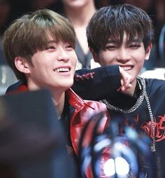 Jaehyun and Taeyong having a great time. #NCTTaeyong #NCTJaehyun