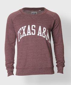 Texas A&M Crewneck sweatshirt #AggieGifts #AggieStyle