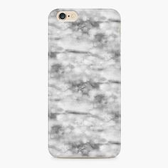 Silver Marble iPhone 6/6S Case  iPhone SE Case by Create5Store