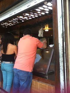 Latina waitress fucked at job