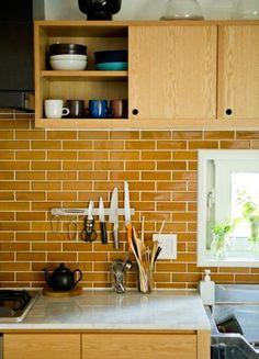 38 Ideas Kitchen Backsplash Diy Ideas Home Decor Diy Interior, Home Interior Design, Interior Styling, Kitchen Black Counter, Kitchen Backsplash, New Home Designs, Home Kitchens, Home Furnishings, Kitchen Design
