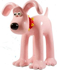 "Gromit Unleashed - Harry Hill designed his ""A Close Shave"" Gromit in a characteristically peculiar style, 'shaving' Gromit and painting stubble on him to raise awareness of male baldness!"
