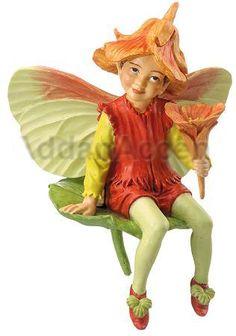Nasturtium Flower Fairy
