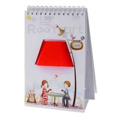 Turn on the cute factor with the Page by Page Lamp!!