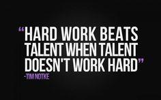 #work #workhard #talent #life