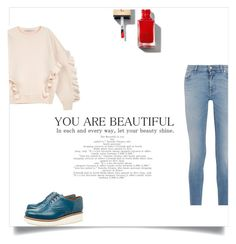 """""""You are beautiful"""" by fashionistaab ❤ liked on Polyvore featuring STELLA McCARTNEY, Givenchy and Grenson"""