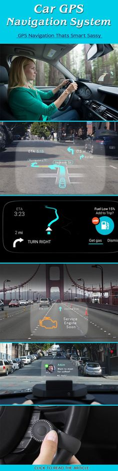 Welcome the smart GPS navigation system for your car - the Navdy HUD GPS system. It is a virtual assistant cum friend which makes driving effortless. #Gadgets #GPSnavigation