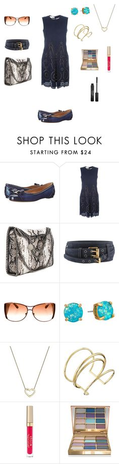 """""""Untitled #803"""" by denaye-mo ❤ liked on Polyvore featuring Salvatore Ferragamo, STELLA McCARTNEY, Kate Spade, Roberto Coin, Elizabeth and James and Stila"""