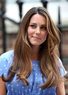 Kate Middleton's blowout