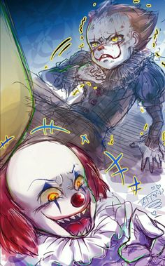 All Horror Movies, Funny Horror, Horror Movie Characters, Horror Films, Es Pennywise, Pennywise The Dancing Clown, Horror Icons, Horror Comics, Bill Skarsgard Pennywise