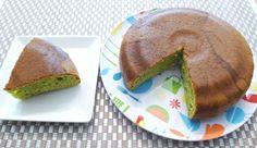 ブロッコリーの野菜パウダーを使って ケーキを作りました♪