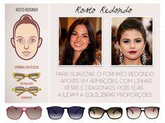 Consultoria de Imagem: óculos para rosto redondo