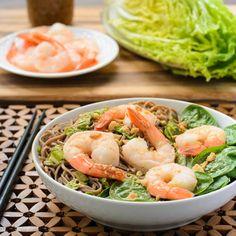 Shrimp Soba Noodle Salad http://magnoliadays.com/2013/shrimp-soba-noodle-salad/