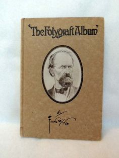 Vintage 1916.. THE FOTYGRAFT ALBUM By Frank Wing.. Early Funny