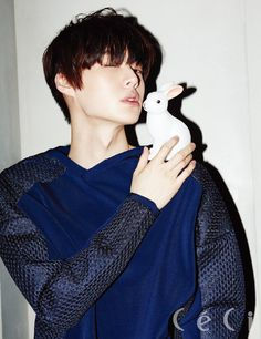 Ahn Jae Hyun - Ceci Magazine April Issue '14