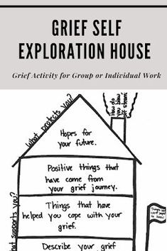Grief Activities, Group Therapy Activities, Therapy Worksheets, Counseling Activities, Therapy Ideas, Art Therapy Projects, Therapy Tools, Grief Counseling, Mental Health Counseling