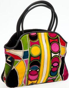 Emilio Pucci 60's graphic print bag