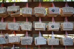 Reflection #613 - Japanese Prayer Plaques » Reflections Enroute
