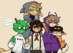 Minecraft Baby, Minecraft Fan Art, My Dream Team, Dream Art, Dream Friends, Cute Drawings, Cool Art, Art Reference, Character Design