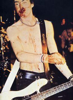 Sid Vicious, looks like I feel