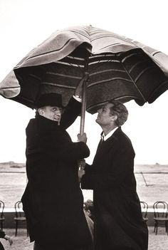 lottereinigerforever:  Federico Fellini & Marcello Mastroianni