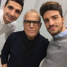 The designer #carlopignatelli and #marianodivaio