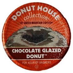 Green Mountain Donut House Chocolate Glazed Donut K-Cups | K-Cup