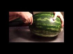 Baby Shower Food Idea - Watermelon Baby Carriage Fruit Bowl Carving - YouTube