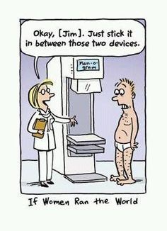 Male version of the mammogram