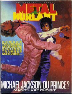 Michael Jackson vs Purple Rain era Prince in a fight to the death