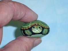 Snapping Turtle, spring garden decor, hand painted rocks by Rockartiste on Turtle Painting, Pebble Painting, Pebble Art, Stone Painting, Garden Painting, Stone Crafts, Rock Crafts, Arts And Crafts, Crafts With Rocks