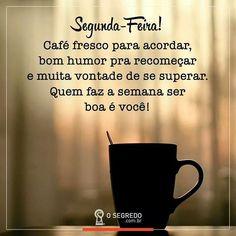 Que a semana comece bem... Que a semana comece com cafe.  #Cof #Cafe  #Coffee  #BoaSemana