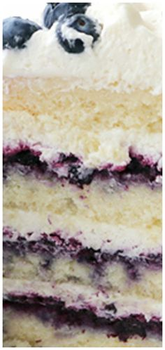 Blueberry Cream Cake Recipe ~ Layers of vanilla cake, homemade blueberry jam and fluffy mascarpone cream frosting and surrounded by blueberries. Lotsa and lotsa blueberries. Farmhouse Buttermilk Cake Low Carb and Keto Cake Recipes Blueberry Cream Cake Recipe, Blueberry Jam, Blueberry Recipes, Blueberry Shortcake, Healthy Cake Recipes, Homemade Cake Recipes, Sweet Recipes, Food Cakes, Cupcake Cakes
