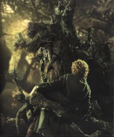 """""""Hrum now, well, I am an Ent, or that's what they call me. Yes, Ent is the word. The Ent, I am, you might say, in your manner of speaking. Fangorn is my name according to some, Treebeard others make it. Treebeard will do."""""""