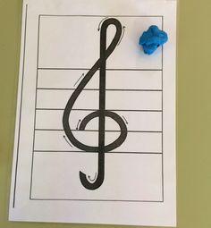 CLAU DE SOL AMB PLASTILINA | Eduplaneta Musical