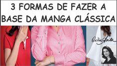 3 FORMAS DE FAZER A BASE DA MANGA CLÁSSICA COM CÉLIA ÁVILA
