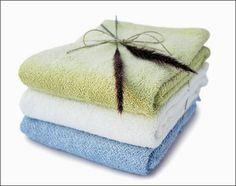 Nandina Organic Cotton & Bamboo Towels