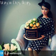 Instagram media by maisondesfleurs_ae - When we receive pictures like this what to say Awwwww  - Thank you @verleroyal #maisondesfleurs #fashionroyalty #dolls#repost#flowerarrangements#mydubai#abudhabi#uae#alain#ajman#uae#instalove#instacute#onlyindubai