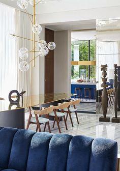 Interior And Exterior, Interior Design, Edwardian House, Luxury Restaurant, Vogue Living, Colorful Interiors, Architecture, House Tours, Contemporary Design