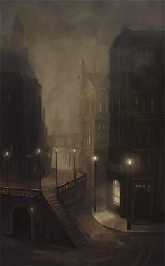 Victorian London, setting of Jekyll & Hyde