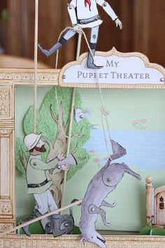 paper puppet theater