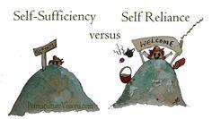 self-sufficiency-vs-self-reliance