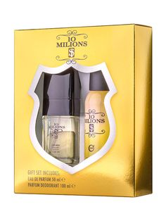 Set cadou barbati 10 Milions $ - Apa de parfum + Deodorant spray