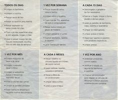 Lista de compras de supermercado para imprimir agenda - Organizar limpieza casa ...
