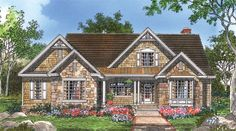NOW AVAILABLE!   The Bosworth | Plan 1328  Walk-in closets, a large pantry, kitchen island, large utility room, separate master sinks!  Tell us what you think about our brand new plan! http://www.dongardner.com/plan_details.aspx?pid=4529