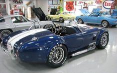 Ac Cobra 427, Ford Shelby Cobra, Shelby Car, Mustang Cobra, Shelby Gt500, Old Muscle Cars, Custom Muscle Cars, Shelby Daytona, Cobra Replica