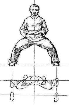 Horse Stance. Mao Bu