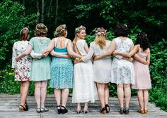 A super cute way to make the bride-to-be feel extra special! A bridal shower shoot in Gstaad, Switzerland